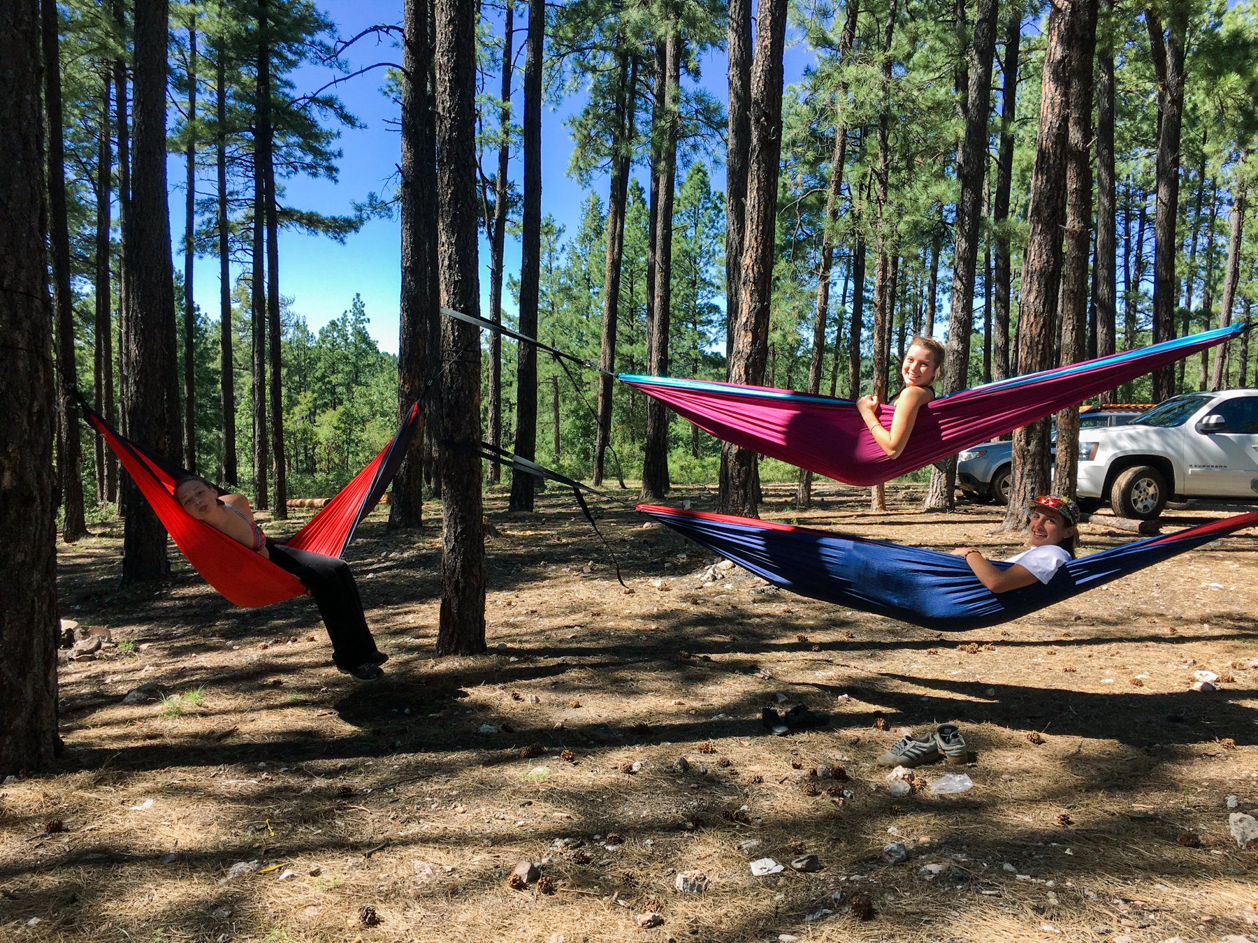 travel, adventure, sunshine, camping, arizona, hammocks, river, sun, happiness, exploring